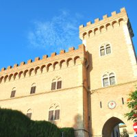 Castello di Bolgheri, Toscana, Italia